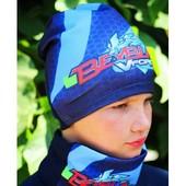 Бомбезные демисезонные шапочки для мальчиков и девочек! Одна на выбор