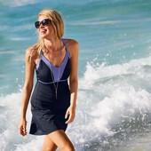 Пляжное платье, сарафан, для купания TCM Tchibo (германия) размер 40 евро (наш 46)