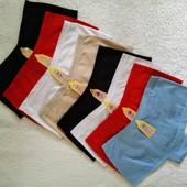 Набор хлопковых  трусиков-шортиков  5 шт, размер С, M на выбор.