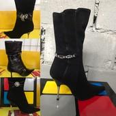 Цена Нереальная. Натуральный замш и кожа! Стильные классические ботиночки.Модель и размер на выбор.