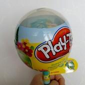 Набор для творчества - Пони, пластилин в чупа-чупсе Play Toy - огромный! Супер!!!