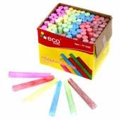 100 штук цветных  мелков  для мольберта и асфальта