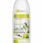 Концентрированное средство для мытья посуды с ароматом лимона и мяты 500мл. (фаберлик)