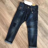 Новые Фирменные джинсы узкачи 8 лет.