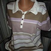 футболка поло 60-62р