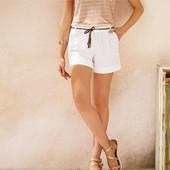 женские шорты от Esmara. Лен+хлопок.