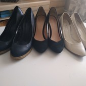 Туфли 3 пары одним лотом