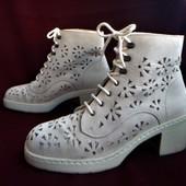 Rieker кожаные оригинальные ботинки 38