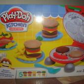 Набор для лепки Play-Doh Барбекю-бургер