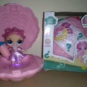 Музыка, свет! В Музыкальной светящейся ракушке светящаяся кукла L.o.l. surprise pearl. Качество!