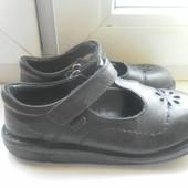 Туфли KicKers кожаные