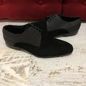 Туфлі із натуральної замші,від San Marina,розмір 42,устілка 28.Новинка