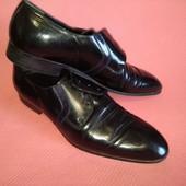 Классные мужские кожаные туфли 43 р.