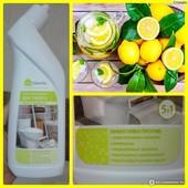 Гель очищающий для туалета 5 в 1 с ароматом лимона -500 мл