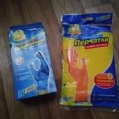 Большой лот Фрекен бок упаковка нитриловых перчаток (10 штук) М и пара резиновых М