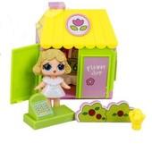 Домик для куклы Lol c аксессуарами Happy Villa и куколкой лол