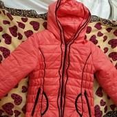 Куртка весна/осень размер 134