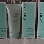 Пилинг Shiseido Green Tea до 2021г.