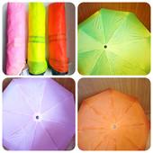 Зонт складной полуавтомат 8спиц. Цвет розовый.