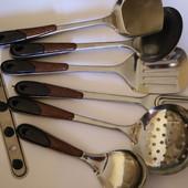 Набор  кухонных принадлежностей.  6  предметов  +  планка. Читайте объявление