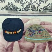 2 шапки одним лотом ог 50