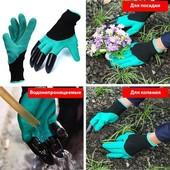 Готовимся к весне Уникальные перчатки садовые Garden Genie Glove для работы в саду и огороде