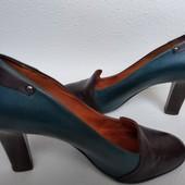 Шкіряні туфлі Lavoragione 39р. 26см