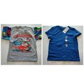 Две футболки для мальчика р 4-5