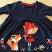 Туника и футболка на девочку 2-3 года
