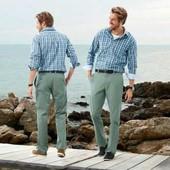 стильные мужские брюки-чиносы от ТСМ Tchibo (Германия). 48 размер