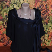 Шикарная шёлковая блузка  в отличном состоянии р-р М