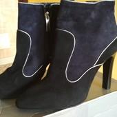 Замшевые ботинки Минелли
