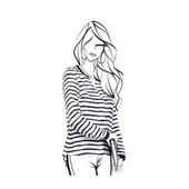 Воздушная женская блуза от Tchibo(Германия). Размер 38 евро
