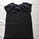 Платье- туника с пайетками на 3-4 года.