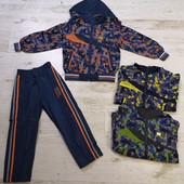 Костюм двойка для мальчика ветровка на трикотажной основе+штаны Crossfire 104-128 рр,Венгрия,3 цвета
