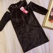 Надзвичайно вишукані плаття. Бархат, перлини. 164 розмір.