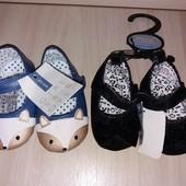 Нові Дитячі Туфельки-Пінетки лот на вибір