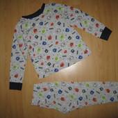 Чудесная пижама F&F без дефектов 5-6 л и р 110-116 см!
