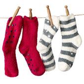 Носки махровые с тормазами от ТСМ(германия) , очень тепленькие , размер 31-36, лот 2 пары