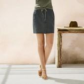 Летняя суперская фирменая юбка Германия Esmara на  жару   лен+котон  р евро 42
