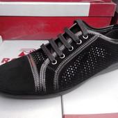 Мужские брендовые туфли Ronny(39-26см) натуральная кожа.Есть наложка