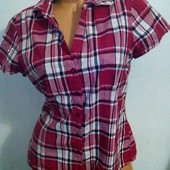 Классная рубашка бренда tom tailor, размер 44, см. замеры, состояние новой вещи