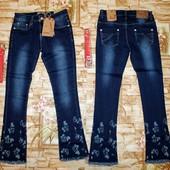 Очень крутые джинсы Grace на девочку 146-164 р