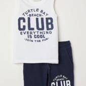 ♥-Комплект H&M шорты+майка размер  8-10-♥