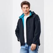 ☘ Мужская куртка непродуваемая, непромокаемая Softshell на флисе  Tchibo,рр. наш: 52-56 (XL евро)