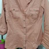 фирменная модная рубашка в клетку фирма джордж в идеале