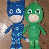Мягкая игрушка PJ Masks Гекко  и Кетбой оригинал