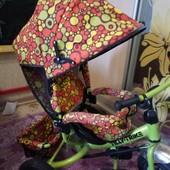 Класний триколісний велосипед з ручкою для батьків