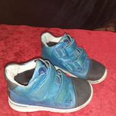 Деми ботинки из нат. кожи Ecco Gore-tex, оригинал Индонезия, разм. 24 (16 см ст.)