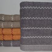 Набор махровых полотенец 100*50 см - 2 шт.Турция